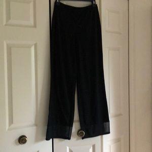 Black pants for woman size s